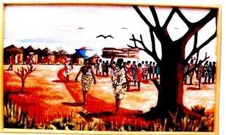Benjamin Oppong -danquah Artwork BRIGHT AND SUNNY DAY, 2005 BRIGHT AND SUNNY DAY, Culture