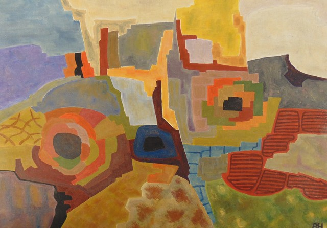 Ben Hotchkiss  'Composition 2111', created in 1999, Original Painting Other.