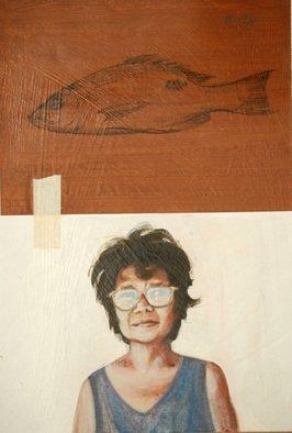 Artist: Jonathan Benitez - Title: My Neighbor - Medium: Acrylic Painting - Year: 2011