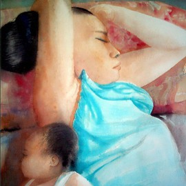 Mother And Daughter, Jonathan Benitez