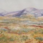Distant Ranges Pilbara By Bernice Wright