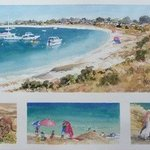 Geordie Bay Rottnest By Bernice Wright