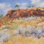 Rocky Outcrop Pilbara By Bernice Wright