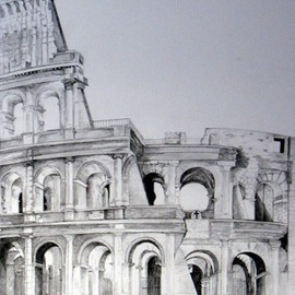 Colosseum By Ron Berry
