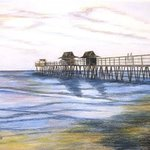 Peaceful Pier By Ron Berry