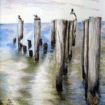 Pilings By Ron Berry
