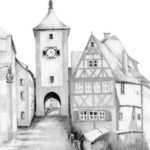 Rothenburg By Ron Berry