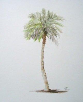 Ron Berry Artwork Sabal Palm 2, 2011 Pencil Drawing, Beach