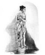 - artwork The_Bather-1123026739.jpg - 2005, Drawing Pencil, Figurative