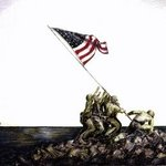 United States Marines on Iwo Jima By Ron Berry