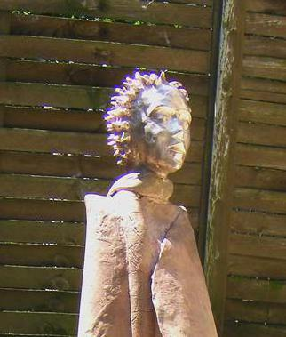 Bronze Sculpture by Gabor Bertalan titled: Little Prince, 2014