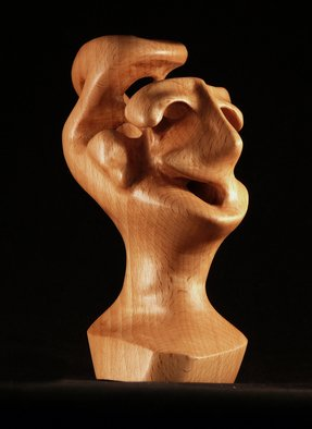 Wood Sculpture by Berthold Neutze titled: Complain If You Want, 2010