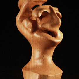 Berthold Neutze Artwork Complain If You Want, 2010 Wood Sculpture, Abstract