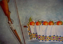 - artwork Tangerines-1157204196.jpg - 1990, Watercolor, Still Life