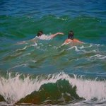 Two Swimmers Ii, Bessie Papazafiriou
