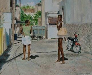 Artist: Vaughn Tucker - Title: The Alley - Medium: Oil Painting - Year: 2011