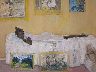 Artist: Vaughn Tucker - Title: The Art Lover - Medium: Oil Painting - Year: 2012