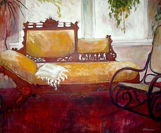 Beverly Furman: 'The Livingroom', 2008 Acrylic Painting, Interior.