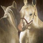 Horses in love By Betina Haak