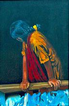 - artwork Looking_Back-1305607637.jpg - 2010, Painting Oil, Figurative