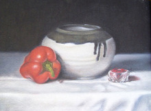 - artwork Red_Pepper-1253034826.jpg - 2009, Painting Oil, Still Life