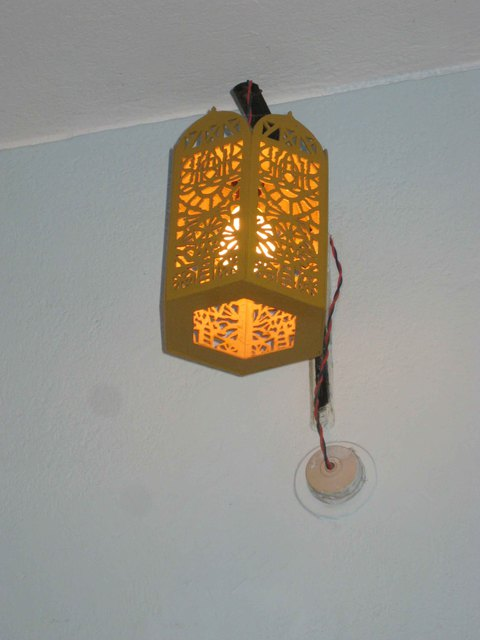 Bijeta Nand  'Lamp', created in 1998, Original Woodworking.