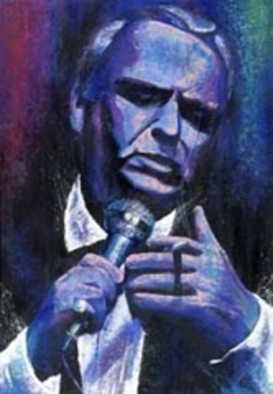 Bill Lopa Artwork Frank Sinatra , 2016 Acrylic Painting, Other