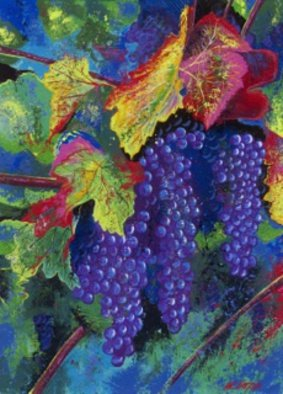 Bill Lopa Artwork Grapevine Wine Artwork, 2016 Giclee, Other