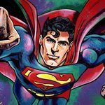 Superman By Bill Lopa