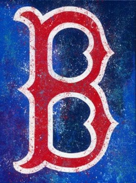 Bill Lopa  'Boston Red Sox', created in 2017, Original Painting Acrylic.