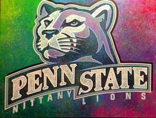Bill Lopa: 'penn state', 2017 Giclee, Sports. Artist Description: Penn State ...
