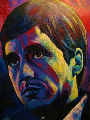 Bill Lopa: 'scarface', 2017 Giclee, Famous People. Artist Description: Scarface...