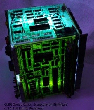 Bill Myers: 'CUBIE', 2012 Computer Art, Technology. Artist Description:  CUBIE is a collection of