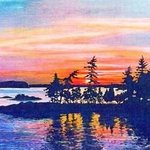 Muskoka sunset By Bill Pullen