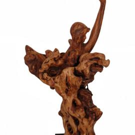Tzipi Biran Artwork Untitled, 2011 Wood Sculpture, Dance