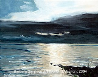 Landscape Acrylic Painting by Simpson Barbara Title: Brilliant Discovery, created in 2004