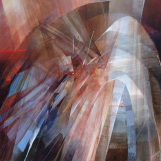 Rochelle Blumenfeld: 'Passage', 2016 Acrylic Painting, Abstract. Artist Description:  contemporary original art acrylic on canvas in an abstract expressionist style ...