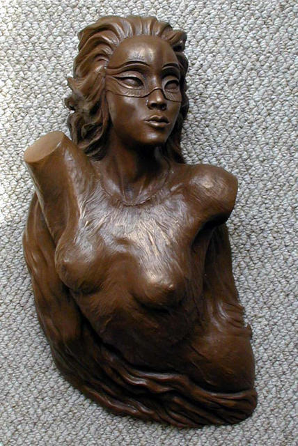 Alexander Bluvshteyn  'Emergence Of Mystery', created in 2003, Original Sculpture Mixed.