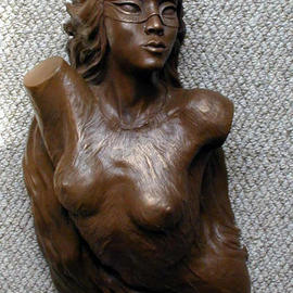 Alexander Bluvshteyn: 'Emergence of Mystery', 2003 Other Sculpture, Figurative.