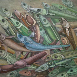 Fish rising