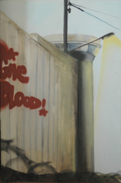 Helge W. Steinmann A.k.a. Bomber  'Give Blood', created in 2009, Original Painting Other.