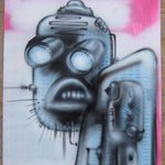 Manic Robot 4 By Helge W. Steinmann A.k.a. Bomber