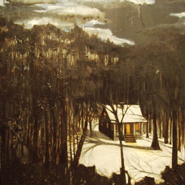 Bonie Bolen: 'Home', 1998 Other Painting, Home.