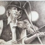 John Hartford, large print By Bonie Bolen