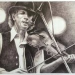 John Hartford, small print By Bonie Bolen
