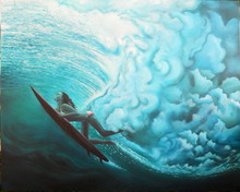 - artwork Wave_Rider-1271823642.jpg - 2010, Painting Oil, Other
