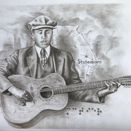 blind willie mctell  By Bonie Bolen
