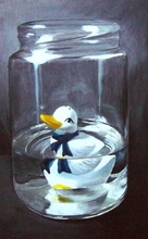 - artwork Sitting_Duck-1223552800.jpg - 2008, Painting Oil, Figurative