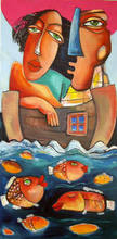 - artwork Sea_love-1171920646.jpg - 2006, Painting Oil, Love