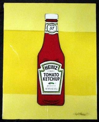 Collage by Ralph Michael Brekan titled: Heinz, 2005